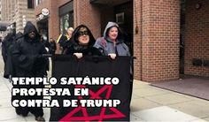 Templo Satánico protesta en contra de Trump