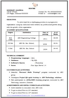 examples of good cv page 1. Resume Example. Resume CV Cover Letter