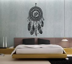 Wall Decal Vinyl Sticker Decals Art Home Decor Design Mural Dreamcatcher Dream Catcher Feathers Night Symbol Bedroom Dorm Hindu Om    Dear Buyers, Welcome to our shop BestDecals!     ★ SIZE AND COLOR ★ Approximate Item Sizes:    20 Wide x 38 Tall / 51 cm Wide x 96 cm Tall  28 Wide x 56 Tall / 71 cm Wide x 142 cm Tall  38 Wide x 72 Tall / 96 cm Wide x 183 cm Tall      If this size is inappropriate for you, you can contact us and provide your dimensions and we can create for you decal of any…