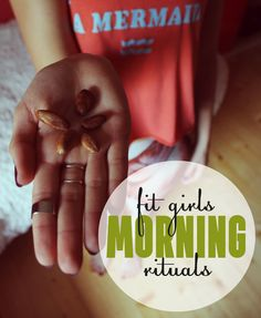 eat few cocoa seeds - 15 Fit Girls Morning Rituals - Healthy Habits That Changed My Life
