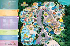 2012 Park Map.  Sesame Street Palace. Let's so this next year for SP's 2nd bday :)