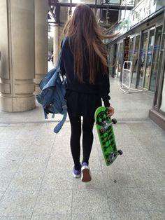 #skateboarding #girl