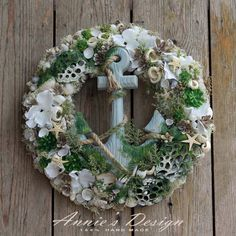 Summer Wreath, House Projects, Future House, Christmas Wreaths, Floral Wreath, New Homes, Craft Ideas, Holiday Decor, Creative