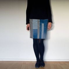 """109 Likes, 19 Comments - tryntsje (@_handmadekate_) on Instagram: """"Skirt made from two old pairs of jeans. Thank you @portialawrie for the inspiring…"""""""