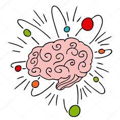 Resultado de imagen de graficos pink brain doodle