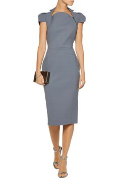 Shop on-sale Antonio Berardi Stretch-crepe dress. Browse other discount designer Dresses & more on The Most Fashionable Fashion Outlet, THE OUTNET.COM