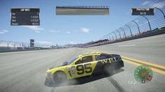 Nascar games can be crazy sometimes.
