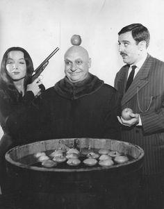 Addams Family, with Carolyn Jones, Jackie Coogan and John Astin, 1964-66