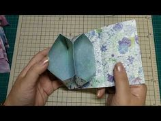 A4用紙1枚で作る時短ふた付き2ポケット蛇腹ファイル - YouTube Origami Wallet, Origami Envelope, Envelopes, Kirigami, Card Stock, Pouch, Felt, Paper Crafts, Purses