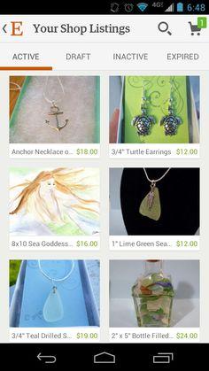 Www.beachbumslife.etsy.com Beautiful day for some shopping on #etsy #beach #jewelry #summer #seaglass #mermaid #ocean #nautical #sanddollar
