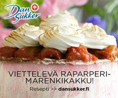 Alkukesän unelmakakku | Reseptit | Kinuskikissa Cheesecake, Trifle, Beautiful Cakes, Sweet Tooth, Mascarpone, Cheesecakes, Cake Art, Pretty Cakes, Cherry Cheesecake Shooters