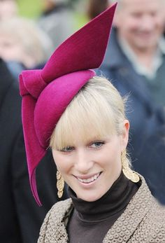 Zara Phillips - Photos: Royal-Wedding-Worthy Hats | Society | Vanity Fair