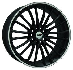 ZCW SNOOP Finished in matt black with a polished rim Available in 18x8 and 19x8.5 5 stud multi drilled