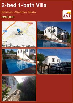 2-bed 1-bath Villa in Benissa, Alicante, Spain ►€250,000 #PropertyForSaleInSpain