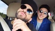 """Al parecer la canción """"Mi felicidad"""" de @Nacholacriatura y @Victormunozvzla dedicada a Venezuela tiene continuación... @Nacholacriatura colgó en su red social este vídeo mientras compartía unas estrofas con Víctor!  #Haztenotar #paraguana #Musica #Nacho #Venezuela #music #mifelicidad  #instagood #like4like #talentonacional #TalentoVenezolano #puntoFijo #news #top #video by puntofijoguiatv"""