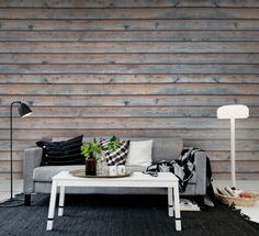 Wall mural R12581 Horizontal Boards