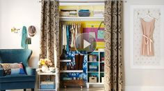 Watch Clothes Closet Tips in the Better Homes and Gardens Video