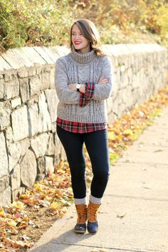How to Wear #LLBean #BeanBoots via blogger Krista Robertson of Covering the Bases.