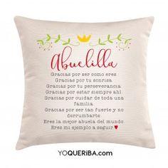 "Cojín personalizado ""Abuela"" corona"