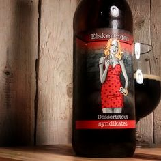 The lover from Syndikatet. Shortly afterwards the brewers wife died,  he launched this nice ris beer. A perfect story for a perfect beer