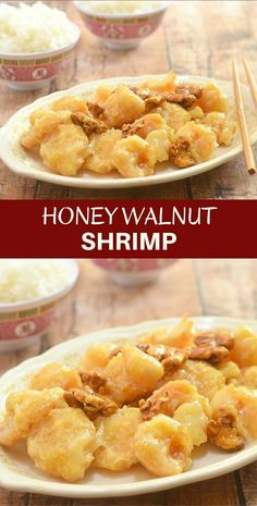 Honey Walnut Shrimp are lightly battered, fried to golden perfection and tossed in a sweet, creamy sauce with candied walnuts. It's delicious as an entree but just as amazing as an appetizer!