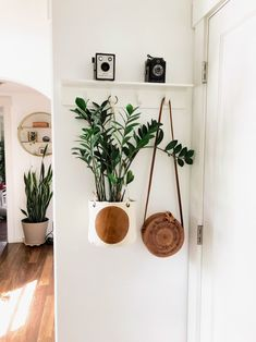 Full Moon Mud Cloth and Leather Plant Basket or Hanging Basket - Best Picture For diy clothes For Your Taste You are looking for something, and it is going to tel - Cheap Home Decor, Diy Home Decor, Plants For Hanging Baskets, Hanging Plant, Plant Basket, Aesthetic Room Decor, Plant Aesthetic, Home And Deco, Plant Decor