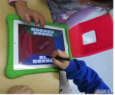 Math Slide: Free Place Value Apps and Activities for iPads Math Classroom, Kindergarten Math, Teaching Math, Teaching Ideas, Classroom Ideas, First Grade Math, Grade 1, Second Grade, Math Place Value