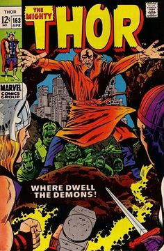 Thor #163 - Where Dwell the Demons!