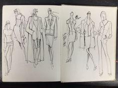 cool Fashion Sketchbook - fashion design sketches; creative process // Renaldo Barnette... Fashion designers Check more at http://pinfashion.top/pin/58497/
