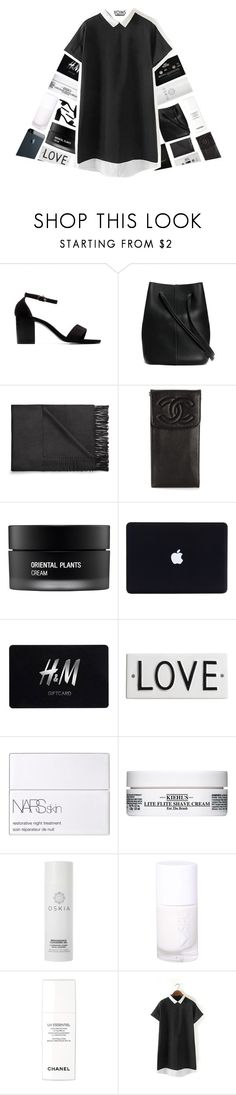 """YOINS"" by xgracieeee ❤ liked on Polyvore featuring Burberry, Acne Studios, Chanel, CASSETTE, Koh Gen Do, H&M, Rosanna, NARS Cosmetics, Kiehl's and Oskia"