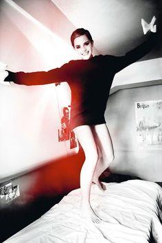Emma Watson by Mario Testino.