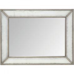 Bernhardt Marquesa Mirror with Antique Mirror Border