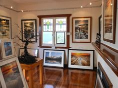 Cow 'n' Calf Art Gallery in Stanley on the north west coast. Article and photo by Michelle Kneipp Pegler for www.think-tasmania.com