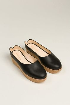Reality Studio, Viana Clogs, Black Cork