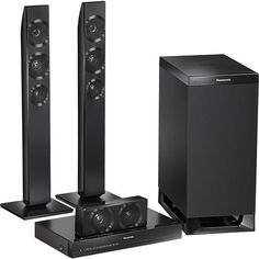 "Panasonic 3.1-Channel Soundbar System with 6-1/2"" Wireless Subwoofer  -  $399.99  -  man cave audio, surround sound systems, sound bars, subwoofers, man cave electronics  -  www.ultimatemancaveshop.com"