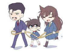 Some doodles that I never posted. Conan Comics, Detektif Conan, Magic Kaito, Detective Conan Ran, Upcoming Anime, Kaito Kuroba, Gosho Aoyama, Detective Conan Wallpapers, Chibi Girl