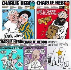 Por Dentro... em Rosa: Aos que são Charlie Hebdo