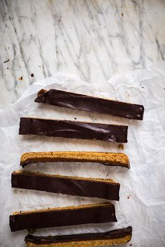 Dark Chocolate-Caramel Cookie Bars - the recipe subs honey and coconut sugar in place of  regular sugar and corn syrup...