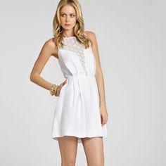55% off!!NEW!!  BCBGeneration white dress White dress BCBG Dresses Midi