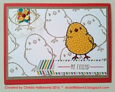 Christa Halbesma dusktilldawn3.blogspot.com Stampin' Up! SAB 2016 Sale-A-Bration Honeycomb Happiness