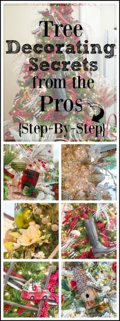 How to decorate a christmas tree from start to finish the easy way