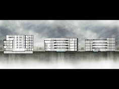 Easy Architectural Section Rendering: photoshop and revit - YouTube