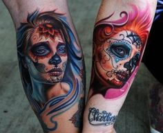 day of the dead tattoos 35