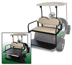 Golf Carts Ideas | Club Car Precedent Golf Cart Rear Flip Flop Seat Kit  Color BEIGE * Click on the image for additional details. Note:It is Affiliate Link to Amazon.
