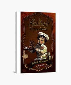 Lienzo Cadbury Lienzo en bastidor, vertical 3:4  39,95 € - ¡Envío gratis a partir de 3 artículos!