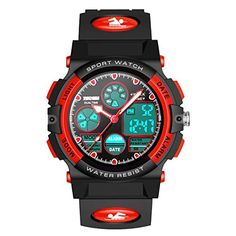 Editor choice LET'S GO! Sports Digital Watch for Kids Gifts for 5-12 Year Old Boys Girls LED Multi Function Waterproof Watch - Best Gifts. Explore our Boys Fashion section featuring new #shopping ideas of the best collection of #BoysFashion #BoysWatches and #fashion products online at #Jodyshop Marketplace.