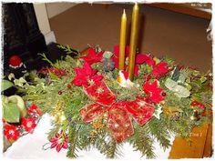 O ozdobach wigilijnych i nie tylko Christmas Tree, Table Decorations, Holiday Decor, Handmade, Home Decor, Teal Christmas Tree, Hand Made, Decoration Home, Room Decor