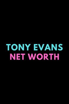 Tony Evans is an American pastor. Find out the net worth of Tony Evans.