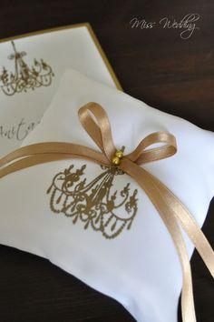 Ringkissen von Miss Wedding auf DaWanda.com