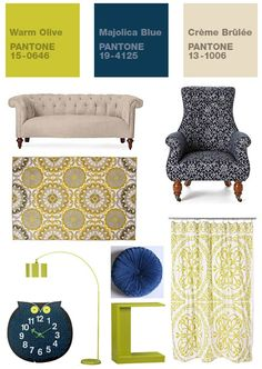 Color inspiration. More modern vintage... yes, that's a real phrase.